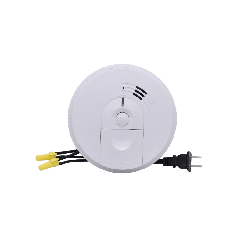 Dual Camera Wifi Ip Smoke Detector Hard Wired Dvr